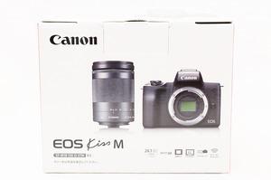 ☆新品☆ Canon キャノン EOS Kiss M ボディ ホワイト 付属品 #4549292109368
