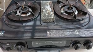 Paloma(パロマ) テーブルコンロ ホーロートッププレート 右強火力 都市ガス用 IC-320SB-3R 12A13A 2012年製 動作OK