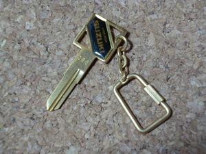 希少 SUZUKI ブランクキー 286 合鍵 / 当時物 スズキ ロゴ キー GSX GT GS RG ガンマ GSX-R マメタン バンバン