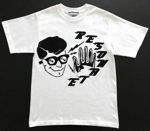 リゾネイト グッドイナフ RESONATE 半袖Tシャツ Sサイズ anvil アメリカ製 ホワイト 藤原ヒロシ フラグメント