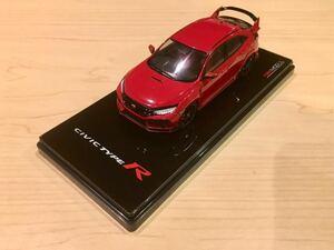 新品 オリジナルパッケージ付き 1/43 TSMモデル 新型 ホンダ シビックタイプR レッド 日本仕様