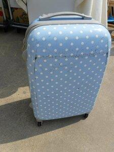 スーツケース キャリーバック 水玉