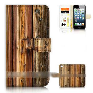 iPhone 5C アイフォン ファイブ シー 木目調 ウッド デザイン スマホケース 手帳型ケース スマートフォン カバー
