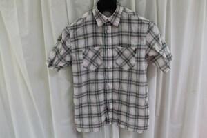 パシフィックコースト PACIFIC COAST メンズ半袖チェックシャツ Mサイズ 新品