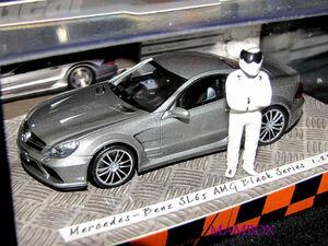 【フリマ】PM☆1/43 519433820 メルセデスベンツSL65 AMG ブラックシリーズ トップギア 限定 2009台