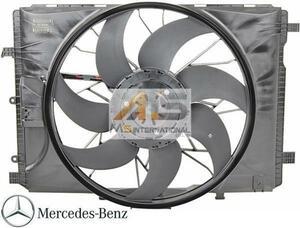 【M's】W212 W207 Eクラス/W218 X218 CLSクラス/X204 GLKクラス 純正 ラジエター 電動ファン アディショナルファン 2049066802 2045000293