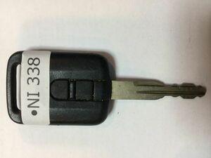 NI 338 日産 純正 キーレス リモコン キューブ マーチ エクストレイル セレナ ティーダ ウイングロード スカイライン等 2B