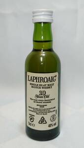 【全国送料無料】LAPHROAIG 10years old ラフロイグ10年 40度 50ml