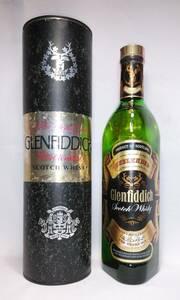 【全国送料無料】Glenfiddich 10years old UNBLENDED Scotch Whisky グレンフィディック 10年 アンブレンデッド 43度 4/5Quart=約757ml