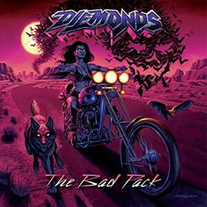 *中古CD DIEMONDS/The Bad Pack 2013年1st国内盤ボーナス・トラック収録 カナダ女性ボーカルHEAVY METAL ZEX AGONIST ACID PLASMATICS