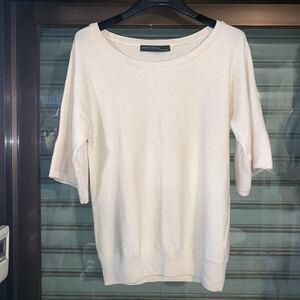 Ray BEAMS ビームス/半袖セーター White色系 トップス