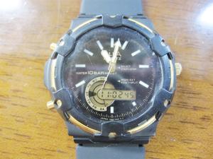 未使用ストック品 レトロ SEIKO セイコー ALBA アルバ アナログ デジタル V062-7000 メンズ クォーツ 腕時計 動品 品番981-15