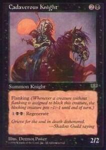 015268-002 MI/MIR 青褪めた騎士/Cadaverous Knight 英2枚