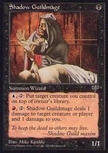 015282-002 MI/MIR 祭影師ギルドの魔道士/Shadow Guildmage 英2枚