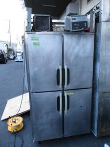 [A04923] SANYO SRR-EV981 業務用冷蔵庫 100V電源 ▼現状品 通電確認 冷えてはいるようでした