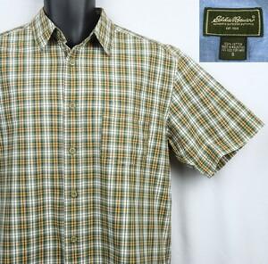 《郵送無料》■Ijinko★エディーバウアー Eddie Bauer ★S サイズ半袖シャツ