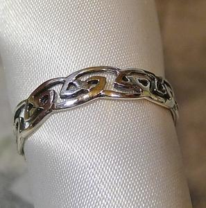 SR1806 Ring Silver 925 Ring No. 25 Keltic Celt Free Shipping
