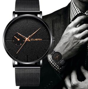 【f0004】1円~ ファッション メンズ 腕時計 トップブランド 高級 クォーツ 時計 カジュアル スリム メッシュ 生活防水 スポーツ時計