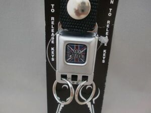 buckle down company records out of production commodity article limit remainder 2 piece sex piste ruz Mini seat belt buckle key holder bread clock UK lock