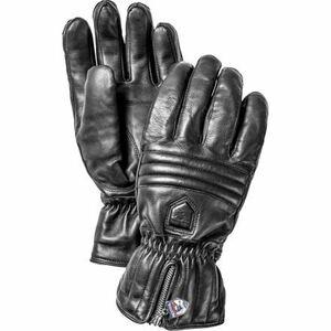 Hestra ヘストラ Leather Swisswool Classic Glove レザー スイスウール クラシック グローブ 9 Black