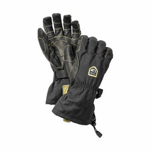 Hestra Army Leather Heli Ski Ergo Grip Glove ヘストラ アーミー レザー ヘリ スキー エルゴ グリップ グローブ 8 M Black