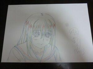 ストライク・ザ・ブラッド Ⅲ OVA Vol.4 特典 姫柊雪菜 複製原画 c