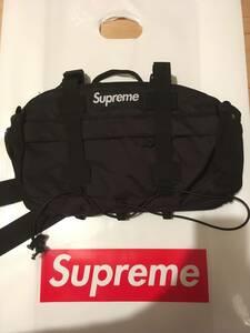 【新品正規】黒 / 19aw supreme waist bag 19fw black シュプリーム ウエストバッグ ブラック 立ち上げ品 ウェストバッグ