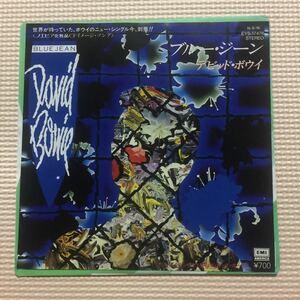デビット・ボウイ ブルー・ジーン 国内盤7インチシングルレコード
