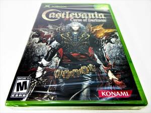 【新品未開封】【日本未発売 北米版 XBOX】 CASTLEVANIA: Curse of Darkness キャッスルヴァニア 悪魔城ドラキュラ 闇の呪印 KONAMI