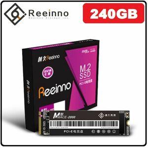 ★新品!!最安値★Reeinno SSD M.2 NVMe PCI-E 240GB 3D 高速 NAND TLC 内蔵型 Mace2000-960 デスクトップ ノートパソコン DE041