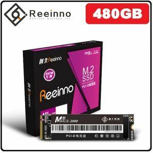 ★新品!!最安値★Reeinno SSD M.2 NVMe PCI-E 480GB 3D 高速 NAND TLC 内蔵型 Mace2000-960 デスクトップ ノートパソコン DE040