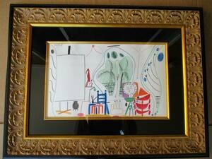 ピカソ パブロ・ピカソ Pablo Picasso 絵画 レア 限定 希少 Interieur XII