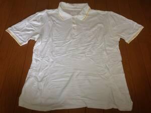 フラグメントデザイン FRAGMENT DESIGN フェノム FENOM リーバイス LEVI'S 半袖ポロシャツ 日本製 L ホワイト 白 イエロー 黄