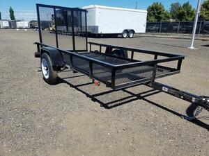 new car 4x8 utility trailer! maximum loading capacity 600kg... license unnecessary! playing . work . large activity! bike . buggy, firewood . material. to transportation .!