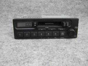 ホンダ純正 カセット テープ ラジオ オーディオ デッキ 39100-S2K-0030 PH-1617G-B AM FM 1DIN 0143971 4LT0