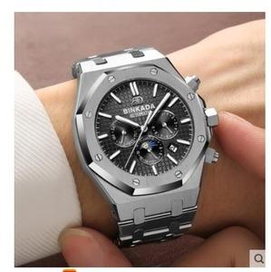 BINKADA 自動巻 腕時計 多機能カレンダー