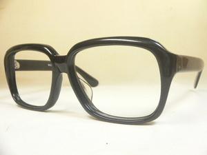 黒ぶち 極太 セル ヴィンテージ 眼鏡 フレーム 恐らく国産品
