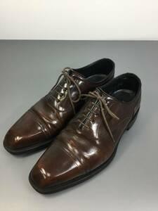 日本製 リーガル 11DR 24.5cm ダークブラウン ビジネスシューズ 革靴
