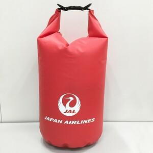 即決♪限定♪新品未使用♪JAL 日本航空 スポーツバッグ ショルダーバッグ 撥水 防水 羽田空港 アメニティグッズ レッド
