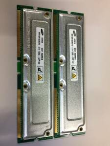secondhand goods SAMSUNG RIMM 1066-32P 512MB(256M*2) present condition goods
