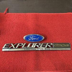 FORD Ford Explorer emblem 2 point set BB585