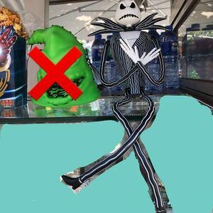 ハロウィン限定 ナイトメア ジャック ドリンクボトル ドリンクホルダー 海外 ディズニー WDW アナハイム 香港 上海 ポップコーン