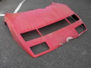 ■フェラーリ 512BBi 純正 フロント カウル ボンネット 中古 Ferrari front bonnet cofano ant 60852700■