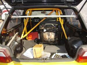 # Fiat uno turbo rear tower bar used F46A8 parts taking equipped Uno roll bar rear gate rear bumper tail lamp seat #