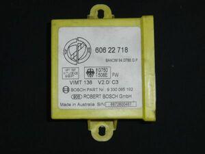 ■アルファロメオ 145 155 GTV イモビライザー コントロール ユニット 中古 60622718 BOSCH 9330065192 部品取りあり オルタネーター■
