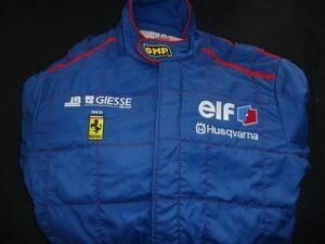 ■OMP レーシングスーツ JMB Racing フェラーリ 360 N-GT 中古 FIA-GT サイズ54 Driver Race Suit ミケロット michelotto elF GIESSE■
