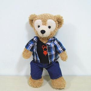ダッフィー&シェリーメイコスチュームsサイズ用シャツズボン2点セット衣装