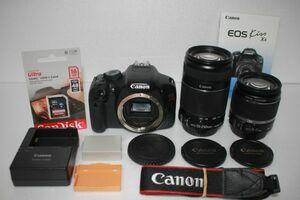 キャノン Canon EOS Kiss X4 ダブルズームキット EF-S 18-55mm F3.5-5.6 EF-S 55-250mm F4-5.6 IS II 手ぶれ補正 Canon kiss x4