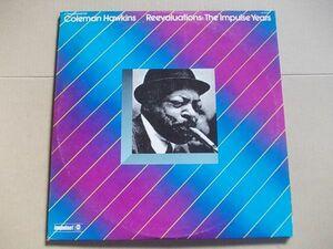 P4234 即決 LPレコード コールマン・ホーキンス COLEMAN HAWKINS『REEVALUAYIONS THE IMPULSE YEARS』 輸入盤 US盤 2枚組