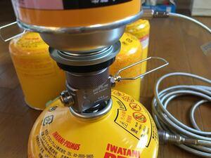 カセットガス CB缶 とアウトドアガスOD缶の詰め替えに便利 G-works R1 ガスセイバーとブタンガスアダプタのセット